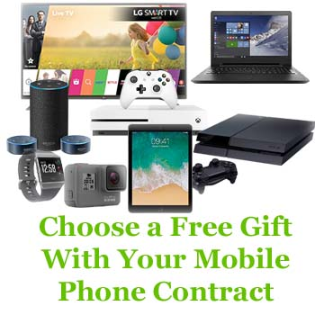 Free Gift With Mobile phone contracr